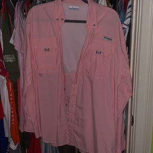 Brand new pink Colombia long sleeve.